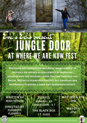 Flyer for Jungle Door as part of WWAN18